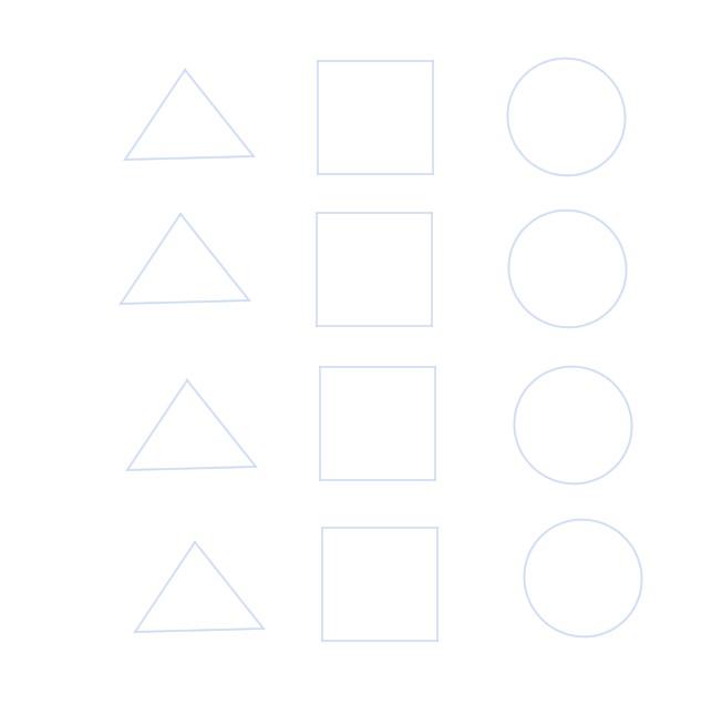 図形を描く練習