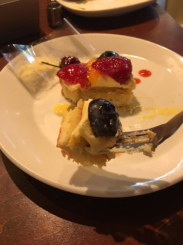 フルーツタルト 実食