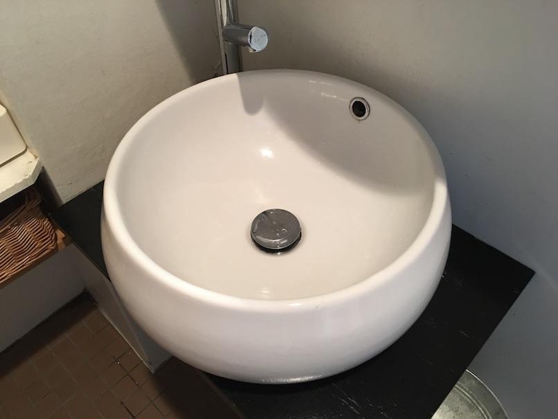 トイレの流し台