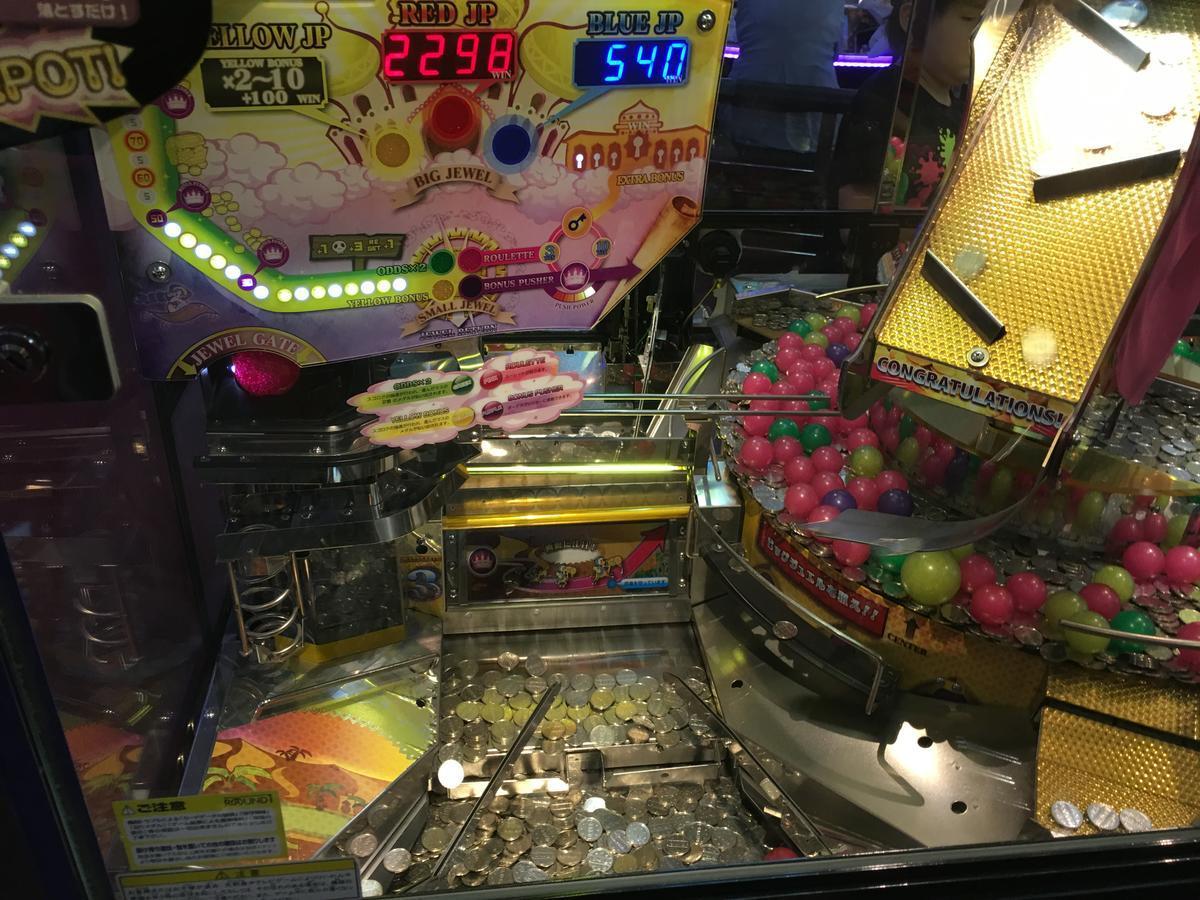 コインゲームでジャックポット2