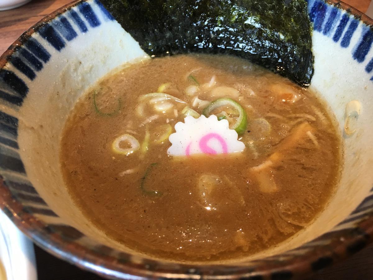濃厚魚介スープ