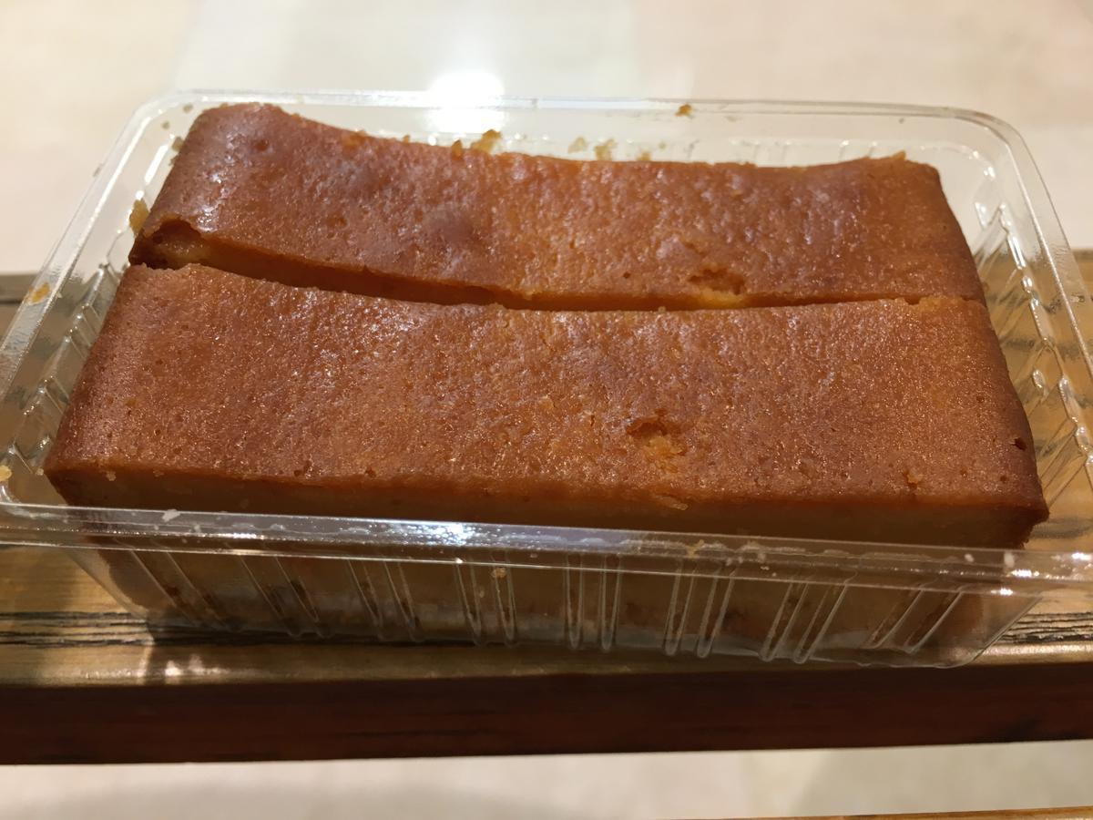 ベークドチーズケーキを開けてみた