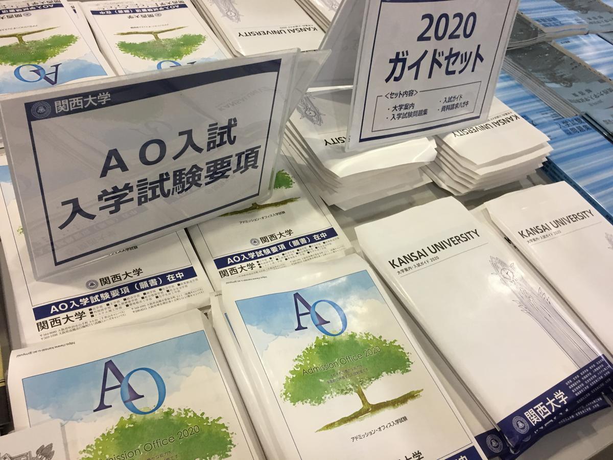 関西大学・AO入試 試験要項