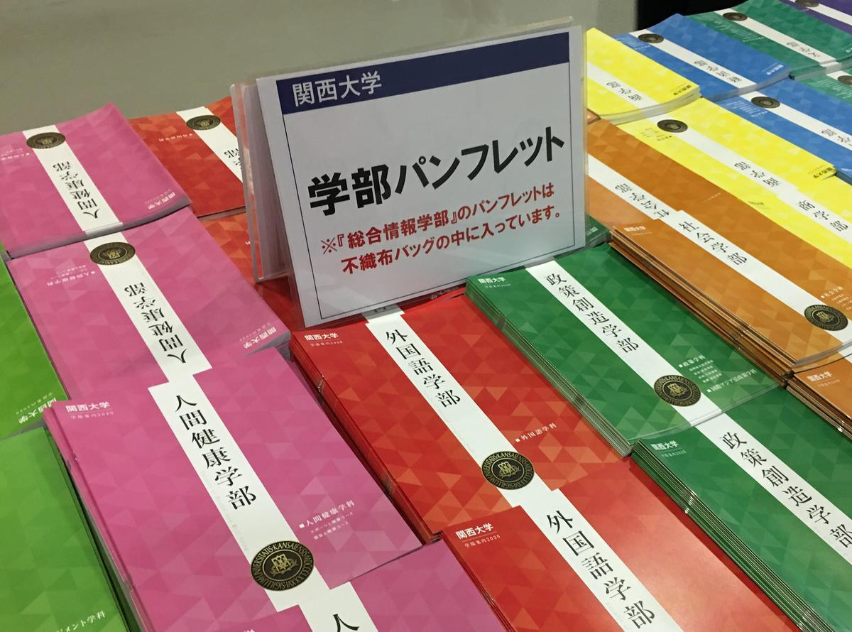 関西大学・学部パンフレット