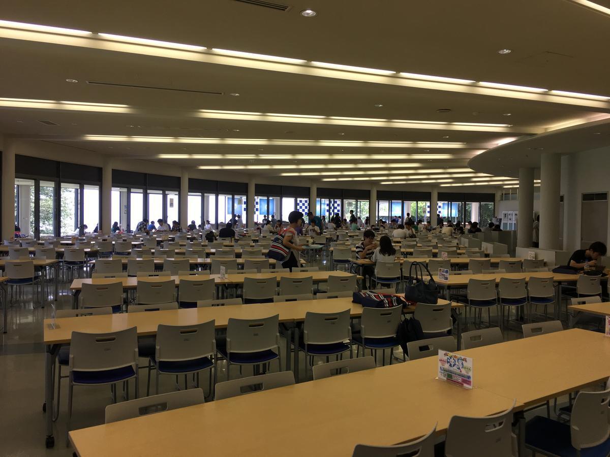 関西大学・高槻キャンパスの学食
