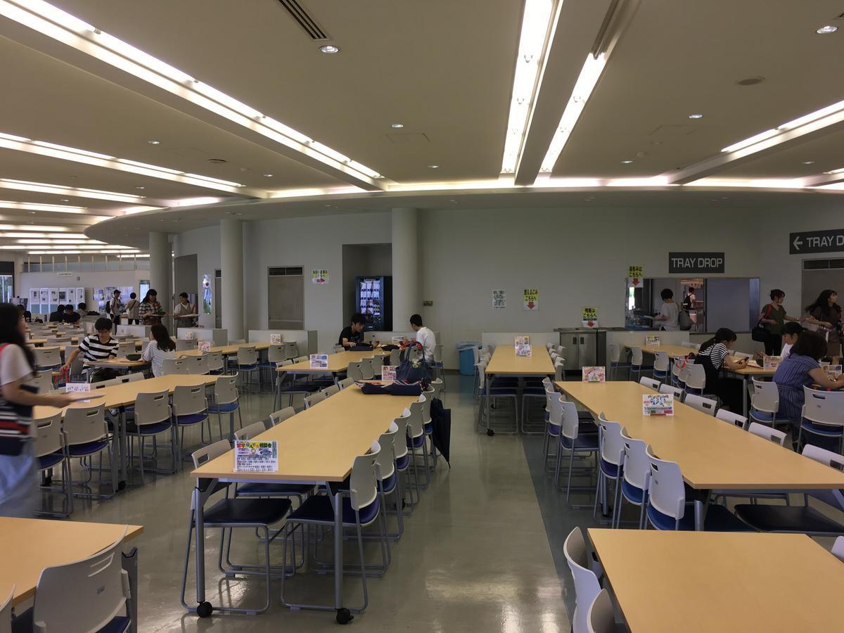 関西大学・高槻キャンパスの食堂