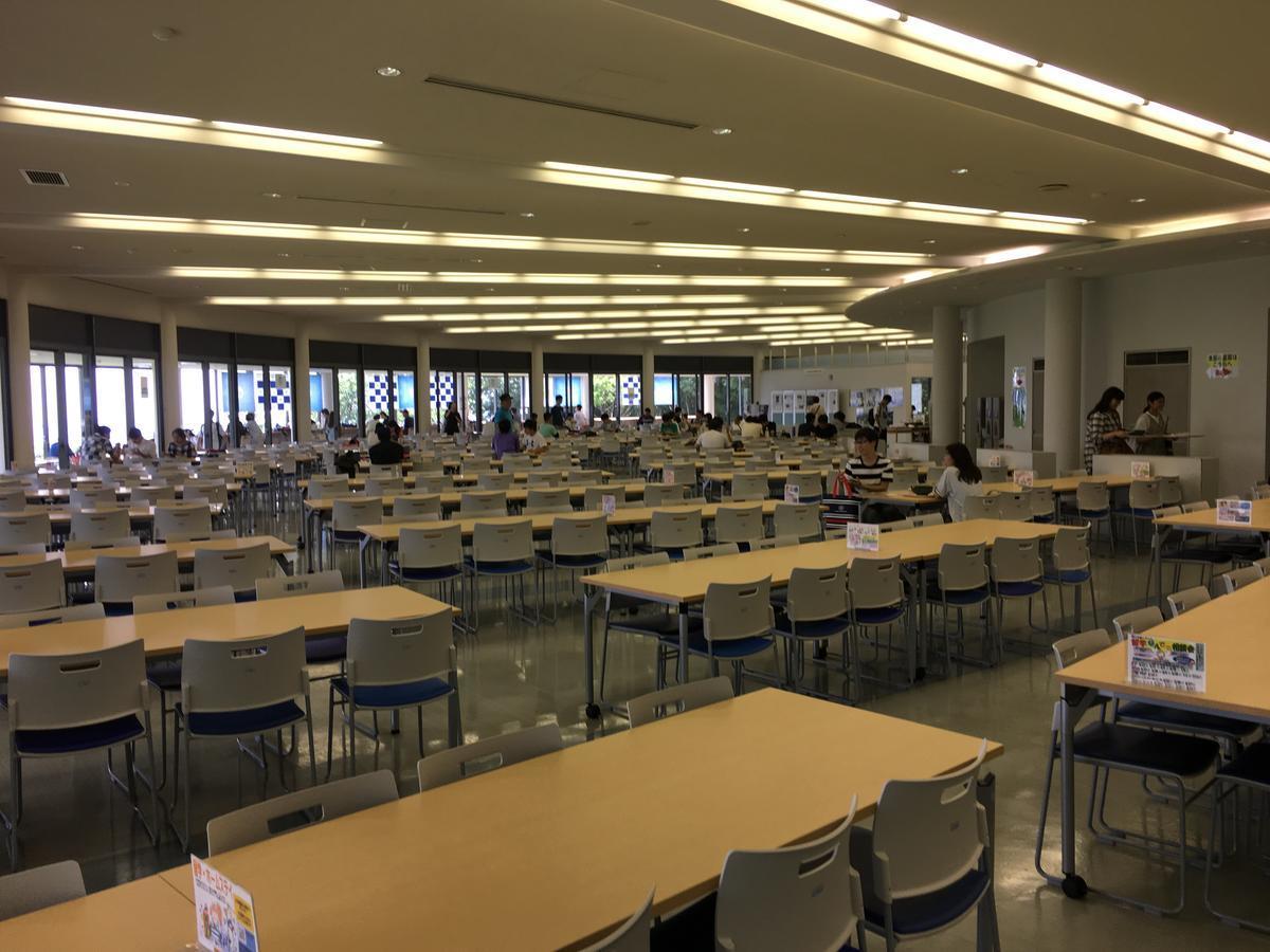 関西大学・高槻キャンパスの食堂2