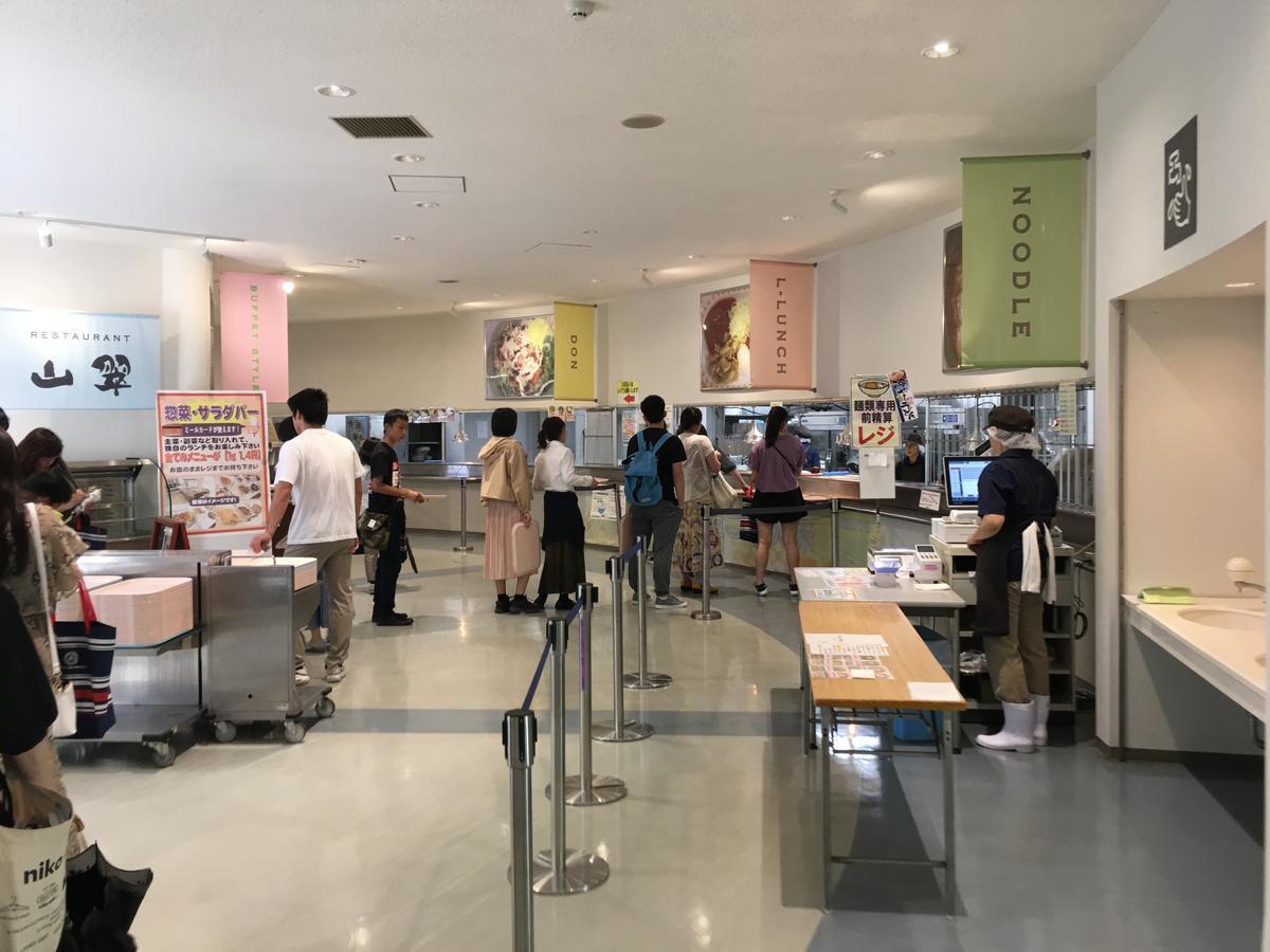 関西大学・高槻キャンパスの食堂、返却口