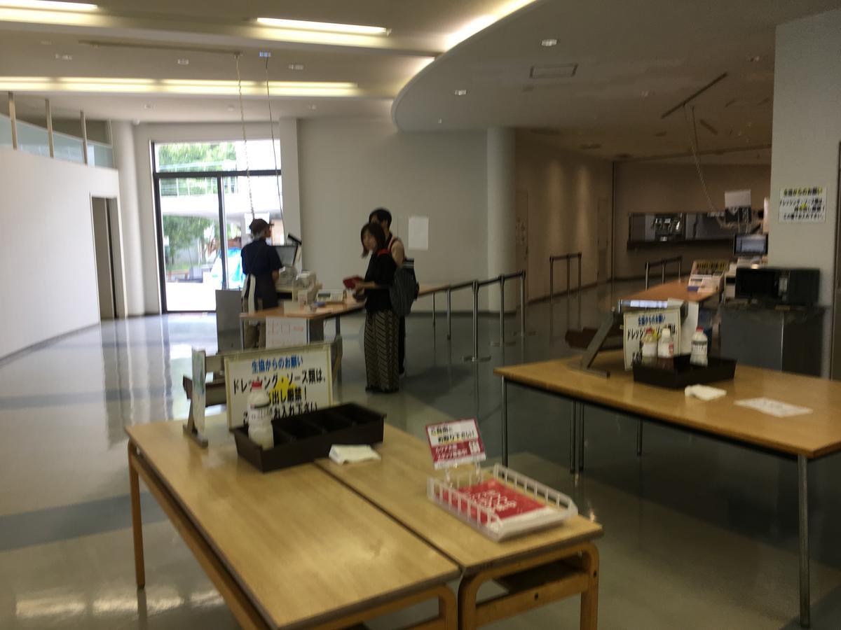 関西大学・高槻キャンパスの食堂のレジ
