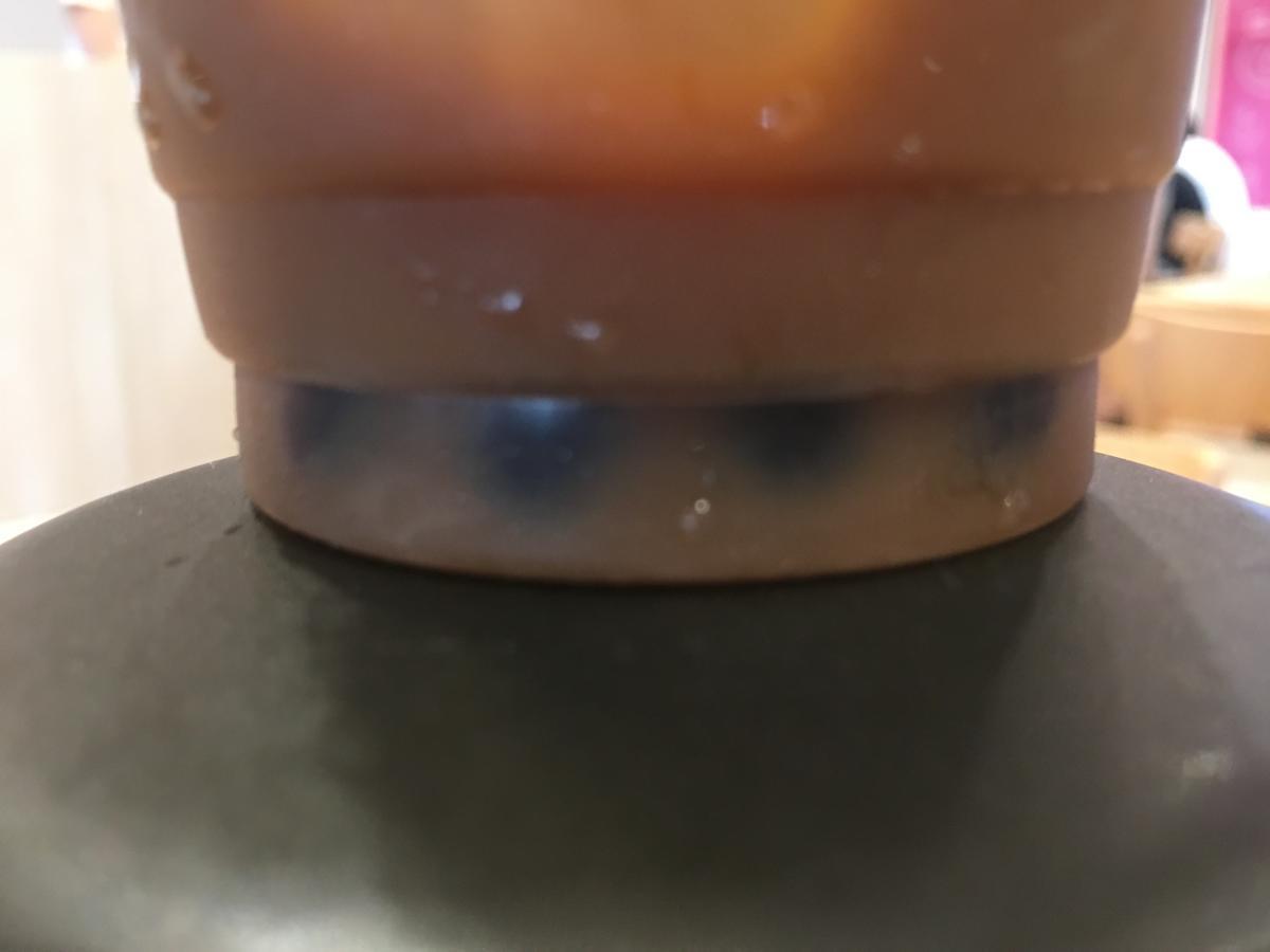 デザート王国のQQDrinkのタピオカ+ブラックコーヒー
