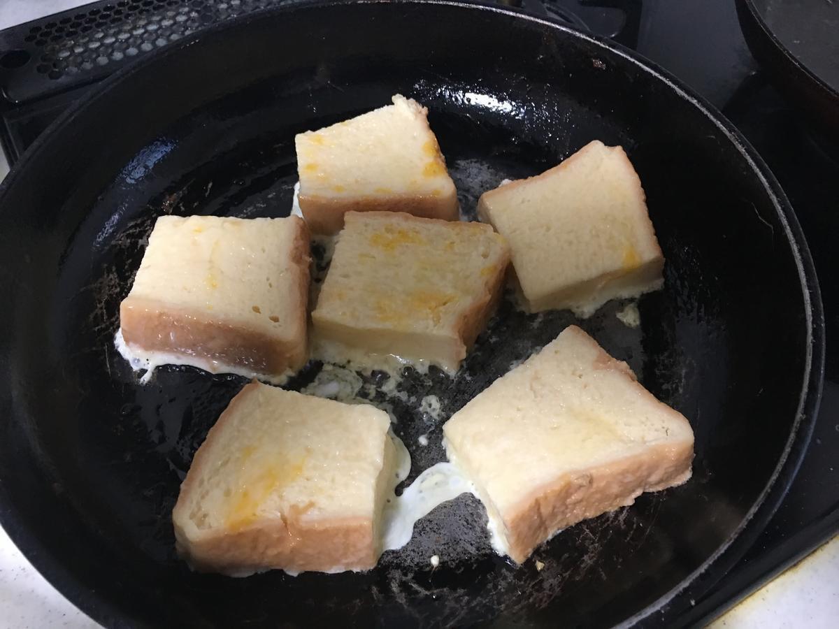 ブラックフレンチトーストを作る2