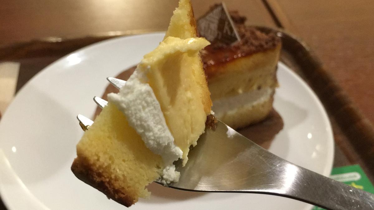 上島珈琲店のくちどけブリュレを食べる12