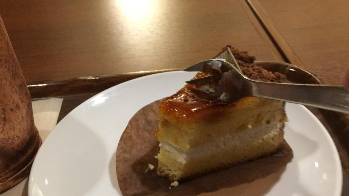 上島珈琲店のくちどけブリュレを食べる13