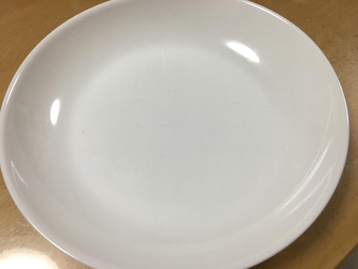 食べ終わった後の皿