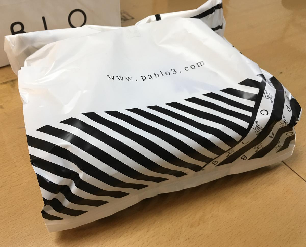 PABLOチーズタルトの袋2