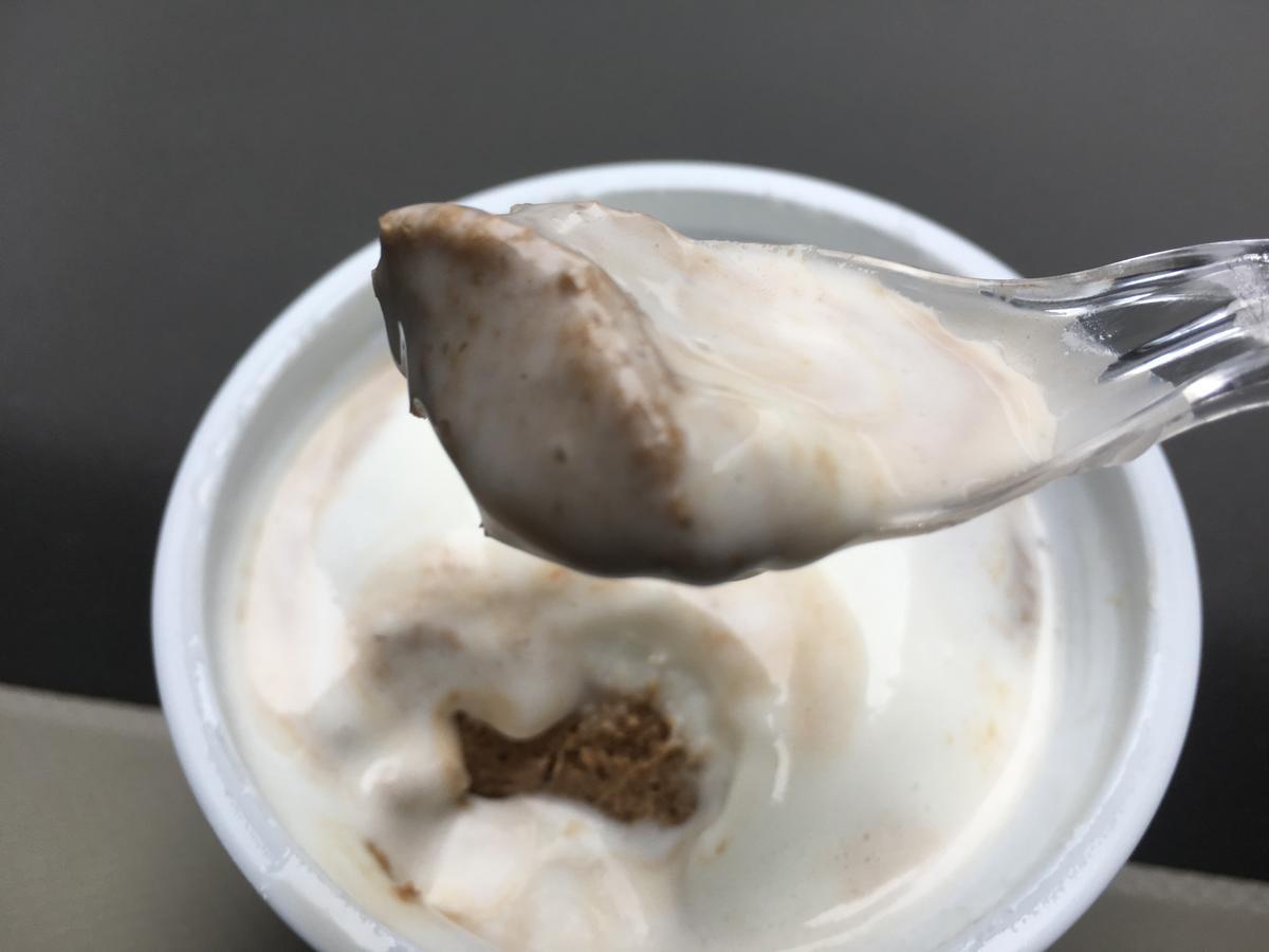 蜜と雪、タピオカ風餅入り紅茶ラテ、ラクトアイス21