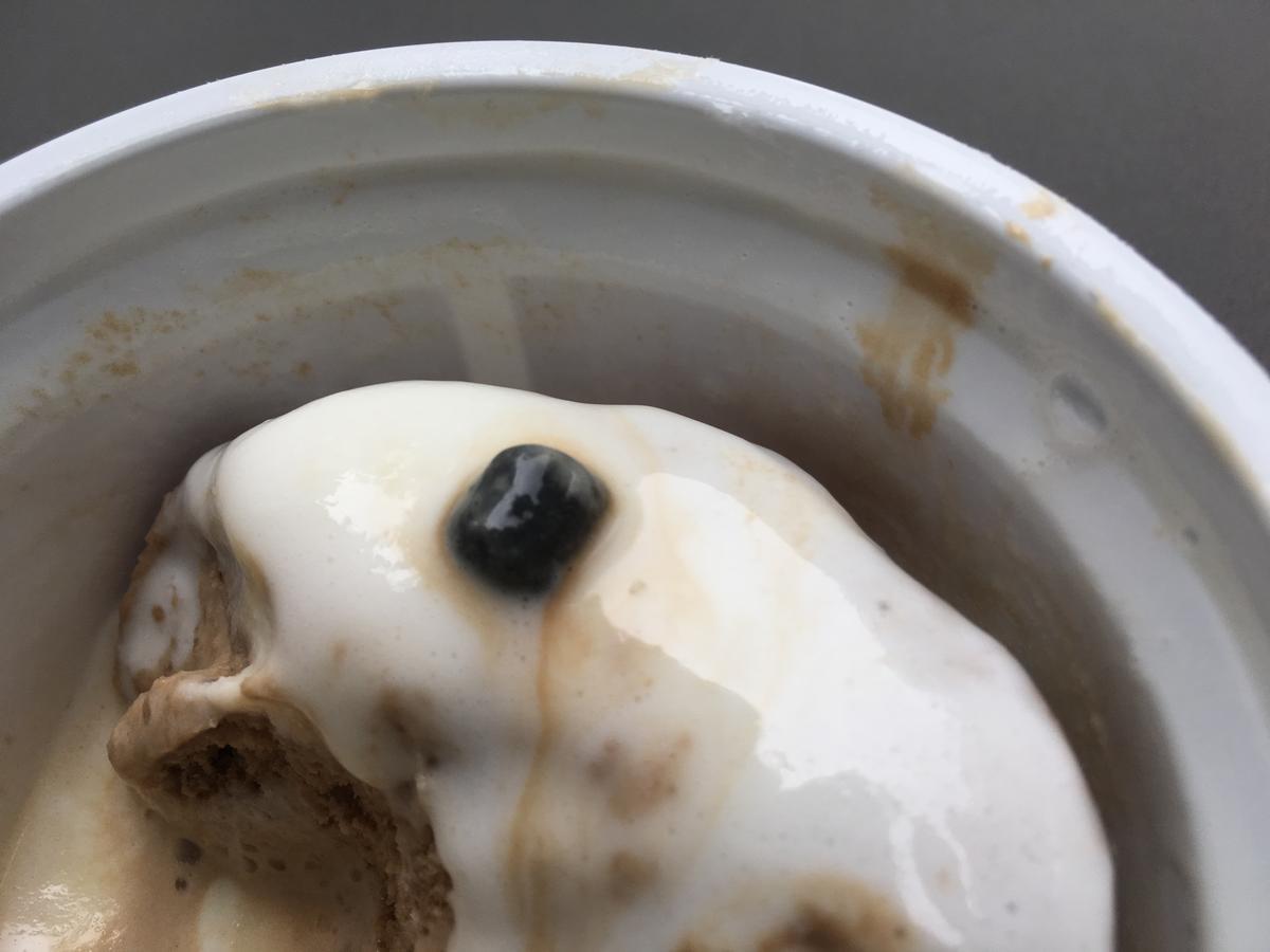 蜜と雪、タピオカ風餅入り紅茶ラテ、ラクトアイス34
