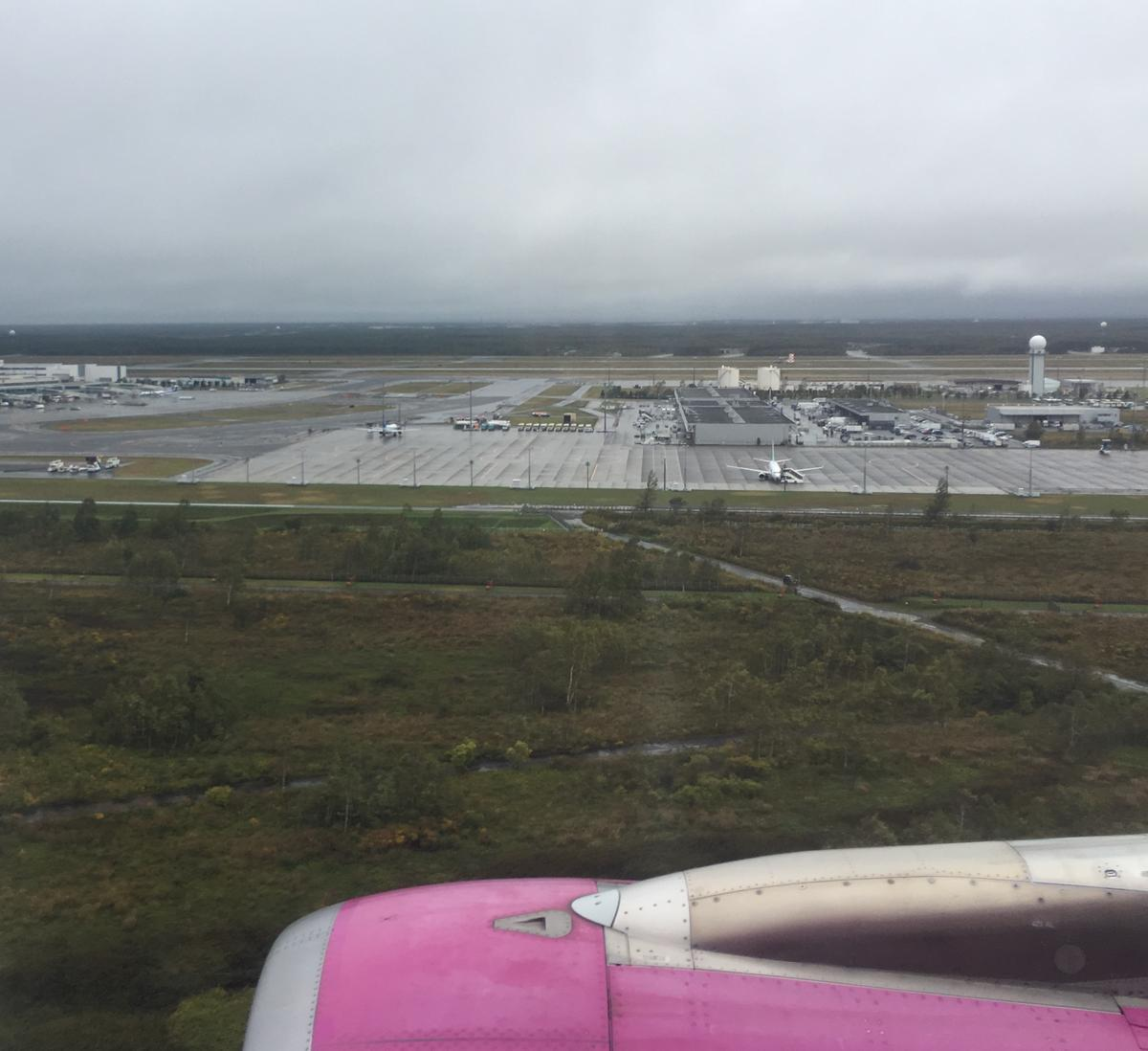 LCC航空会社peachで北海道の新千歳空港へ向かう飛行中7