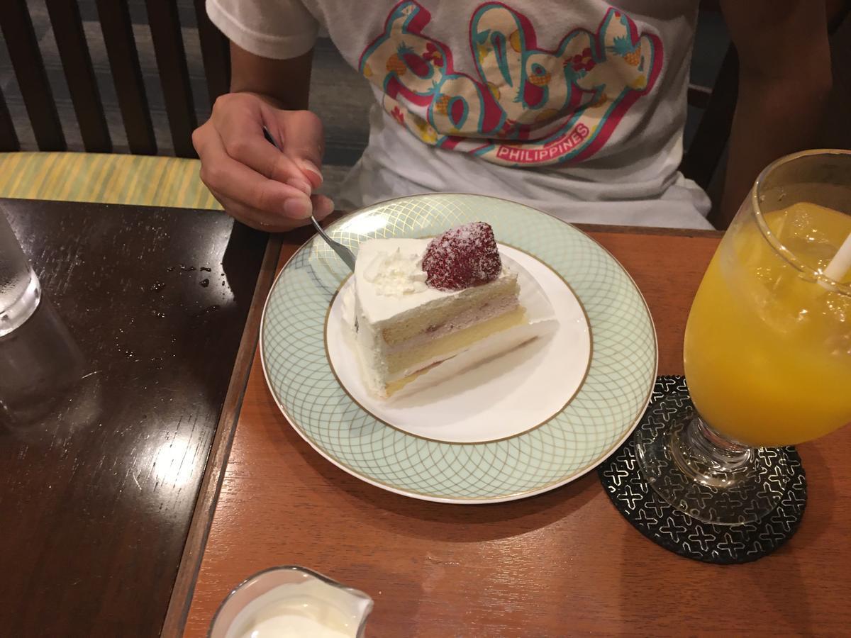 本町の喫茶店・亜羅毘加(アラビカ)ケーキセットを食べる