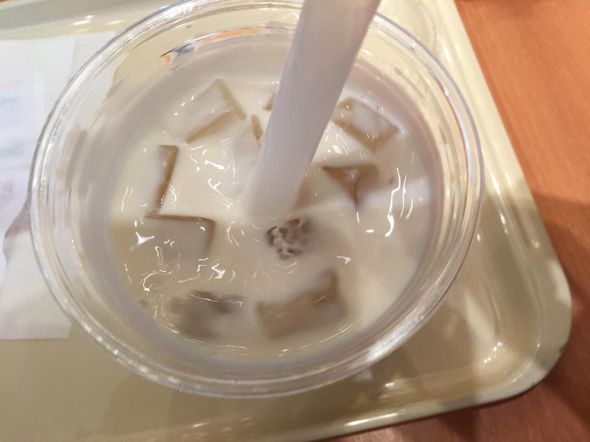 ドトールコーヒーの黒糖タピオカ