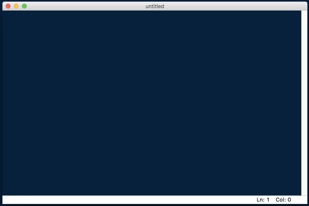 Python・IDLE・エディタウィンドウに直接コードを書く2