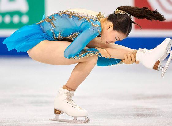 女子フィギュア選手の紀平梨花