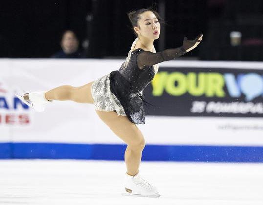 女子フィギュア選手の樋口新葉