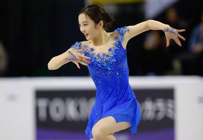女子フィギュア選手の本田真凜