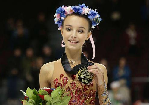 女子フィギュア選手のアンナ・シェルバコワ