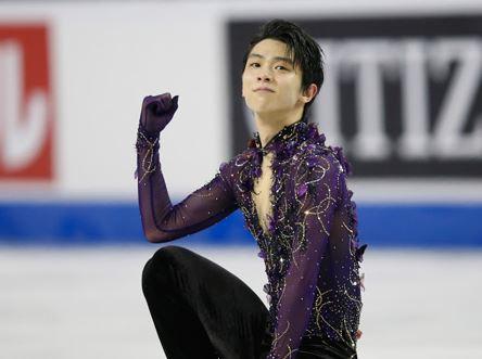 男子フィギュアスケートの羽生結弦選手