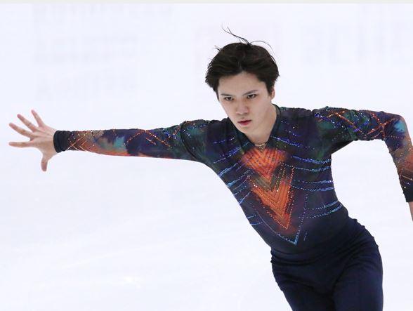 男子フィギュアスケートの宇野昌磨選手