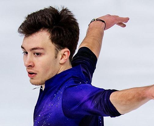 男子フィギュアスケートのドミトリー・アリエフ選手