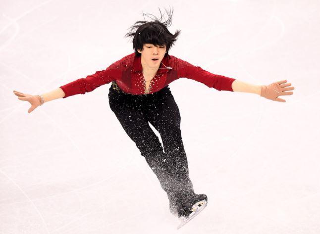 男子フィギュアスケートのチャ・ジュンファン選手