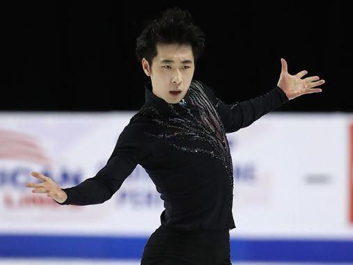 男子フィギュアスケートの金博洋選手