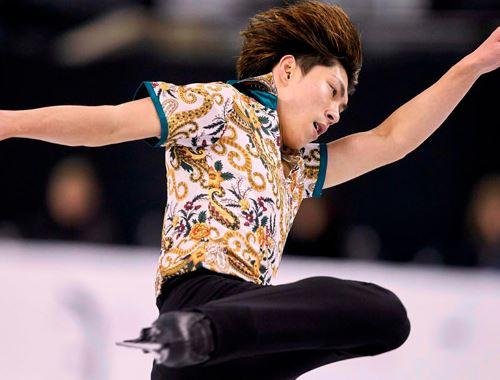 男子フィギュアスケートの田中刑事選手