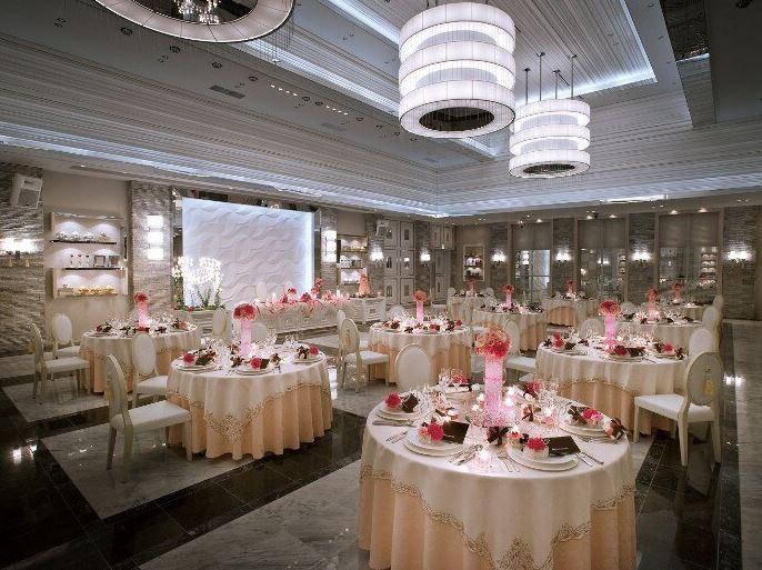 旭川で少人数の結婚式におすすめのブルーミントンヒルの披露宴会場