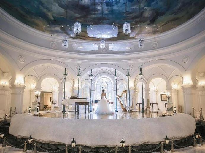 旭川・富良野で少人数の結婚式におすすめの雪の美術館の挙式会場