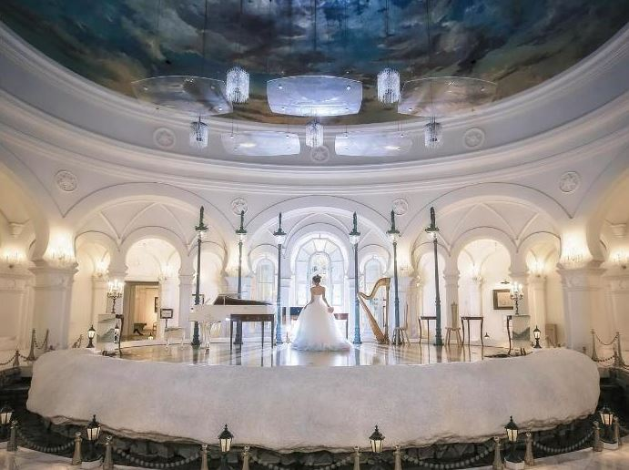 旭川・富良野で少人数の結婚式におすすめの雪の美術館