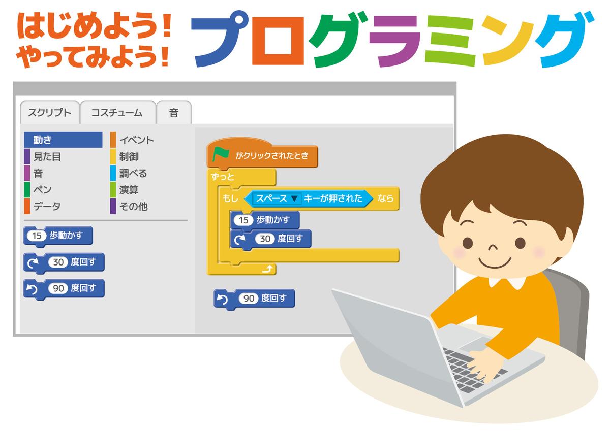 プログラミング教育を受ける小学生