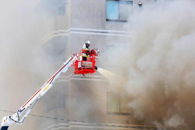 簿記上では取引と言わない火災による建物の焼失