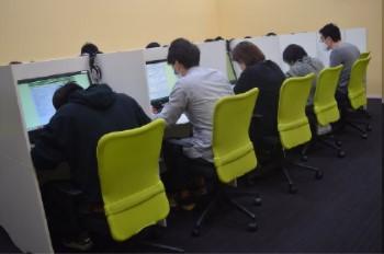 簿記ネット試験の様子