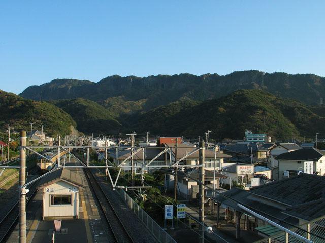 小春日和の駅にて