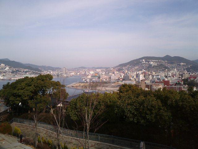 長崎は今日も晴れだった
