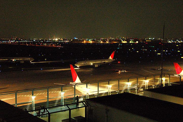 夜の羽田空港(1)