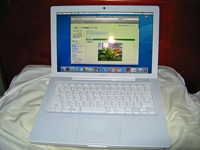人生初mac