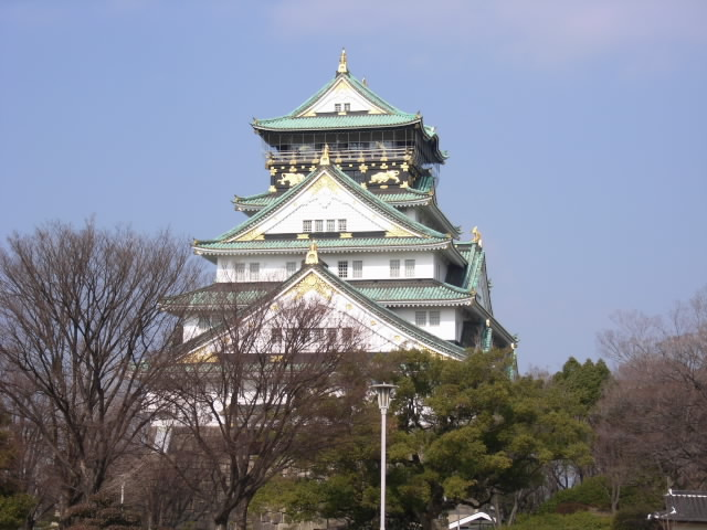 大阪城だぁ