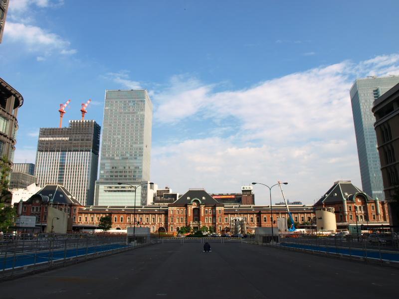 東京駅ツインタワー付き