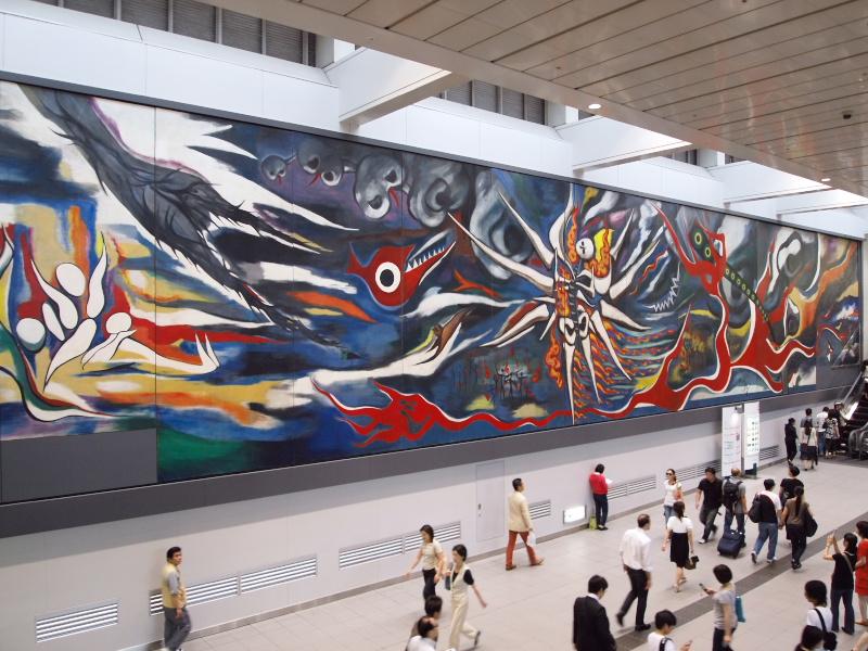 岡本太郎in渋谷