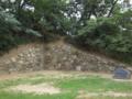 戦国時代からの石垣