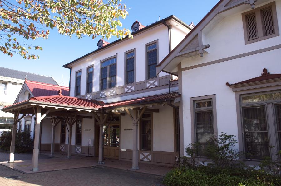 旧軽井沢駅駅舎